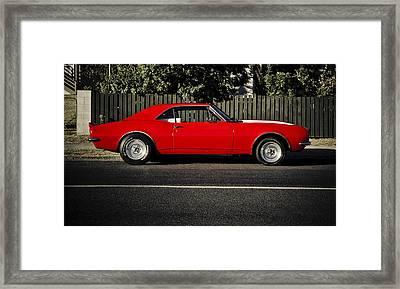 Big Block Camaro Framed Print