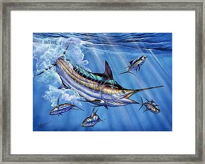 Big Blue And Tuna Framed Print