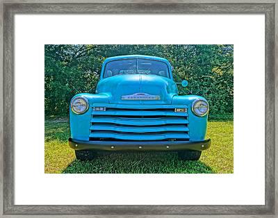 Big Blue Framed Print