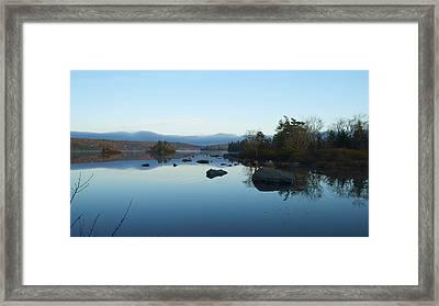 Big Blue Framed Print by Julie Smith