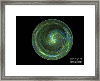 Big Blue Marble Framed Print