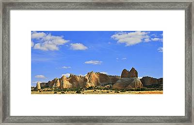 Big Blue Sky Framed Print by Kathleen Scanlan