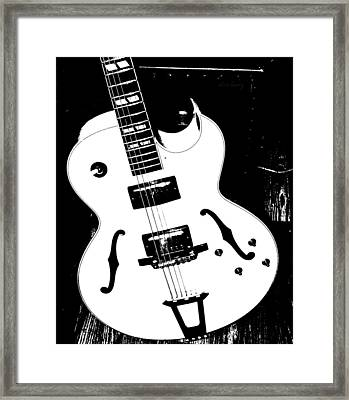 Big Ol Gibson Framed Print by Chris Berry