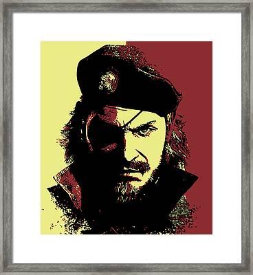 Big Boss Framed Print by Danilo Caro