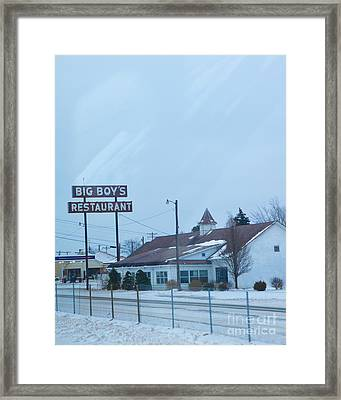 Big Boy's Framed Print by Kay Pickens