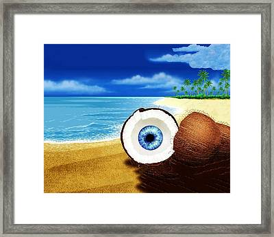 Big Brother In The Year 3000 Framed Print by Bruce Iorio