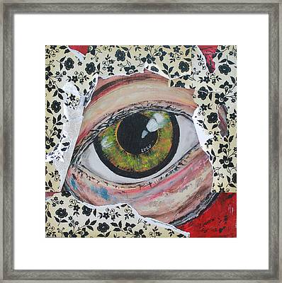 Big Brother Framed Print by Lucy Matta