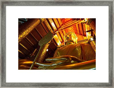 Big Buddha Framed Print by Zestgolf