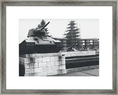 Big Building Site Berlin Framed Print by Retro Images Archive