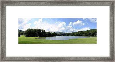Big Canoe Golf Framed Print by Bob Jackson