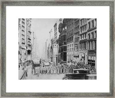 Big City Framed Print by Andy Crothers