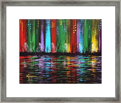 Big City Framed Print by Kume Bryant
