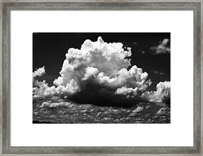 Big Cloud Framed Print