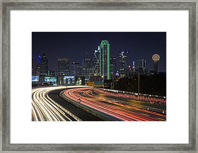 Big D Framed Print by Rick Berk