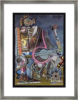 Big Dirty D Framed Print