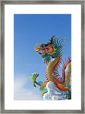 Big Dragons Framed Print