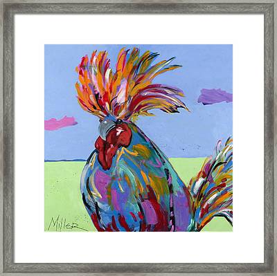 Big Duke II Framed Print