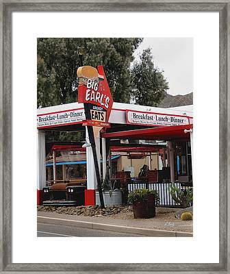 Big Earl's Greasy Eats Framed Print