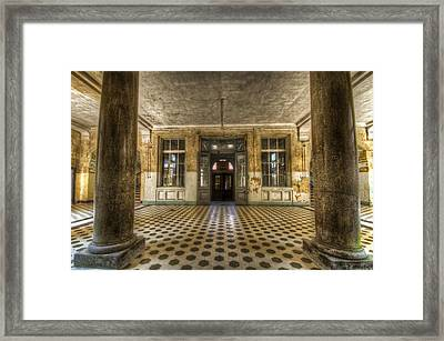 Big Entrance Framed Print