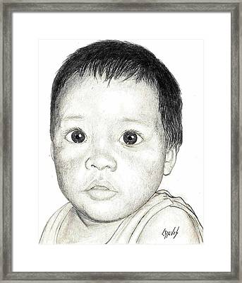 Big Eyes Framed Print by Lew Davis