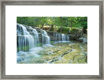 Big Falls Framed Print