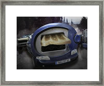 Big Fat Mouth Framed Print by Nafets Nuarb