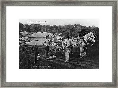 Big Fish, 1910 Framed Print by Granger