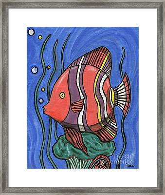 Big Fish Framed Print