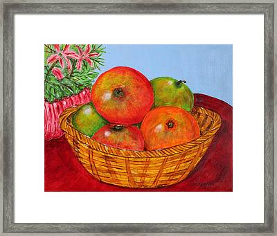Big Fruit Framed Print