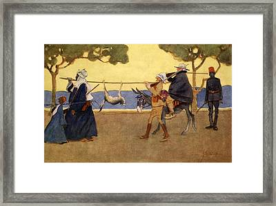 Big Game Hunters, From The Light Side Framed Print