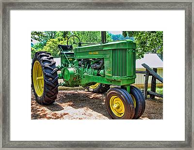 Big Green Framed Print by Kenny Francis