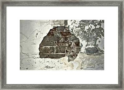 Big Hair Abstract Framed Print by Cathy Anderson