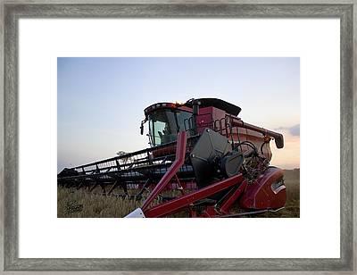 Big Harvest Framed Print