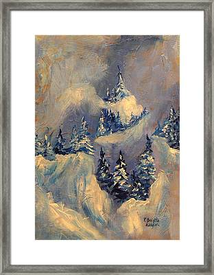 Big Horn Peak Framed Print