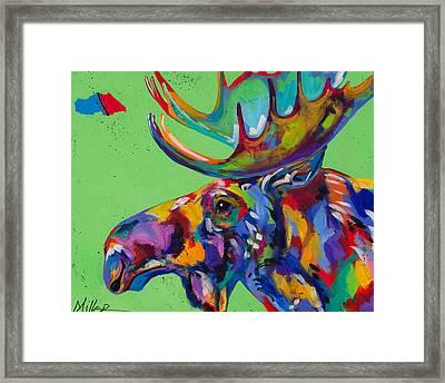 Big Hoss Framed Print by Tracy Miller