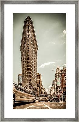 Big In The Big Apple Framed Print