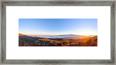 Big Island Sunset 2 Framed Print