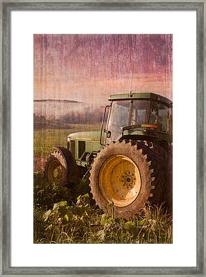 Big John Framed Print by Debra and Dave Vanderlaan