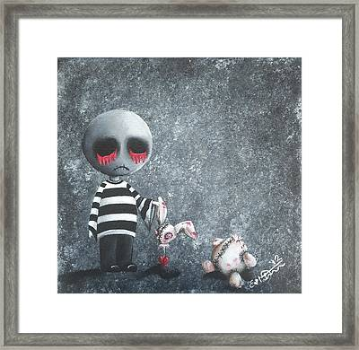 Big Juicy Tears Of Blood And Pain 9 Framed Print