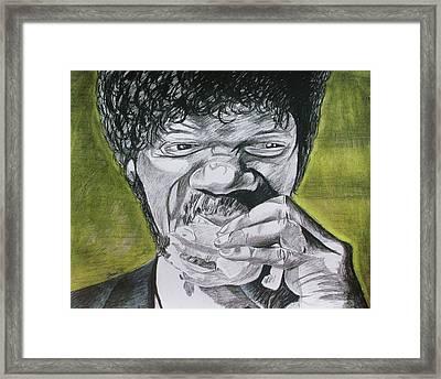 Big Kahuna Burger Framed Print by Jeremy Moore