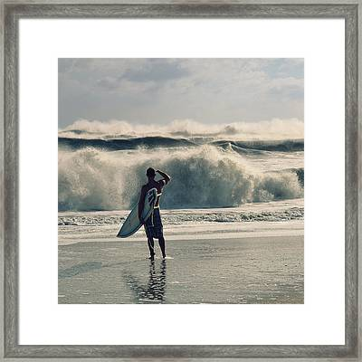 Big Kahuna Framed Print by Laura Fasulo