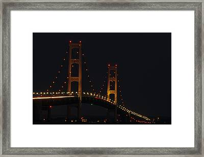 Big Mack At Night Framed Print by Thomas Pettengill