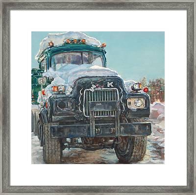Big Mack Framed Print by Sharon Jordan Bahosh