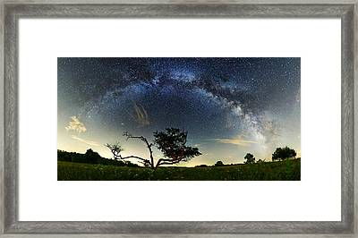 Big Meadows Milkyway  Framed Print by Andrew Fritz