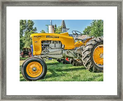 Framed Print featuring the photograph Big Mo Minneapolis Moline by Trey Foerster