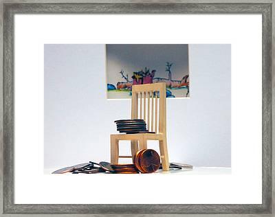 Chump Change Framed Print by Leon Hollins III