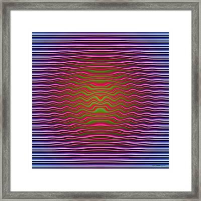 Big O Framed Print by WB Johnston