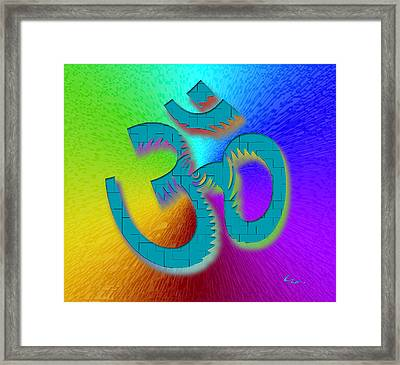 Big Ohm Framed Print