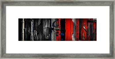 Big Old Red Barn  Framed Print by Bob Orsillo