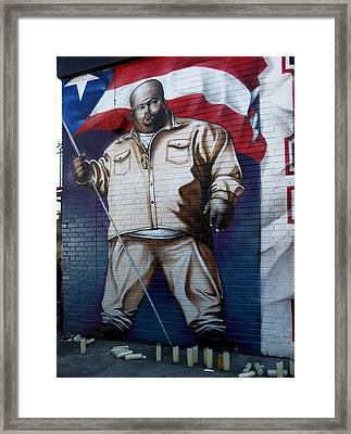Big Pun Framed Print by RicardMN Photography